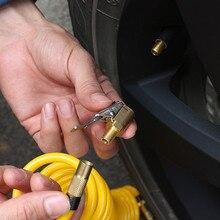 Автомобильный сопло воздушный насос регулятор сопла аксессуары для автомобильных насосов быстрая Конвертация головки клип тип сопла автомобильные аксессуары