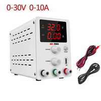 Switching Lab Power Supply Laboratory 30V 10A Bench Source Digital Regulator Adjustable DC Power Supplies USB interface 5V 2A