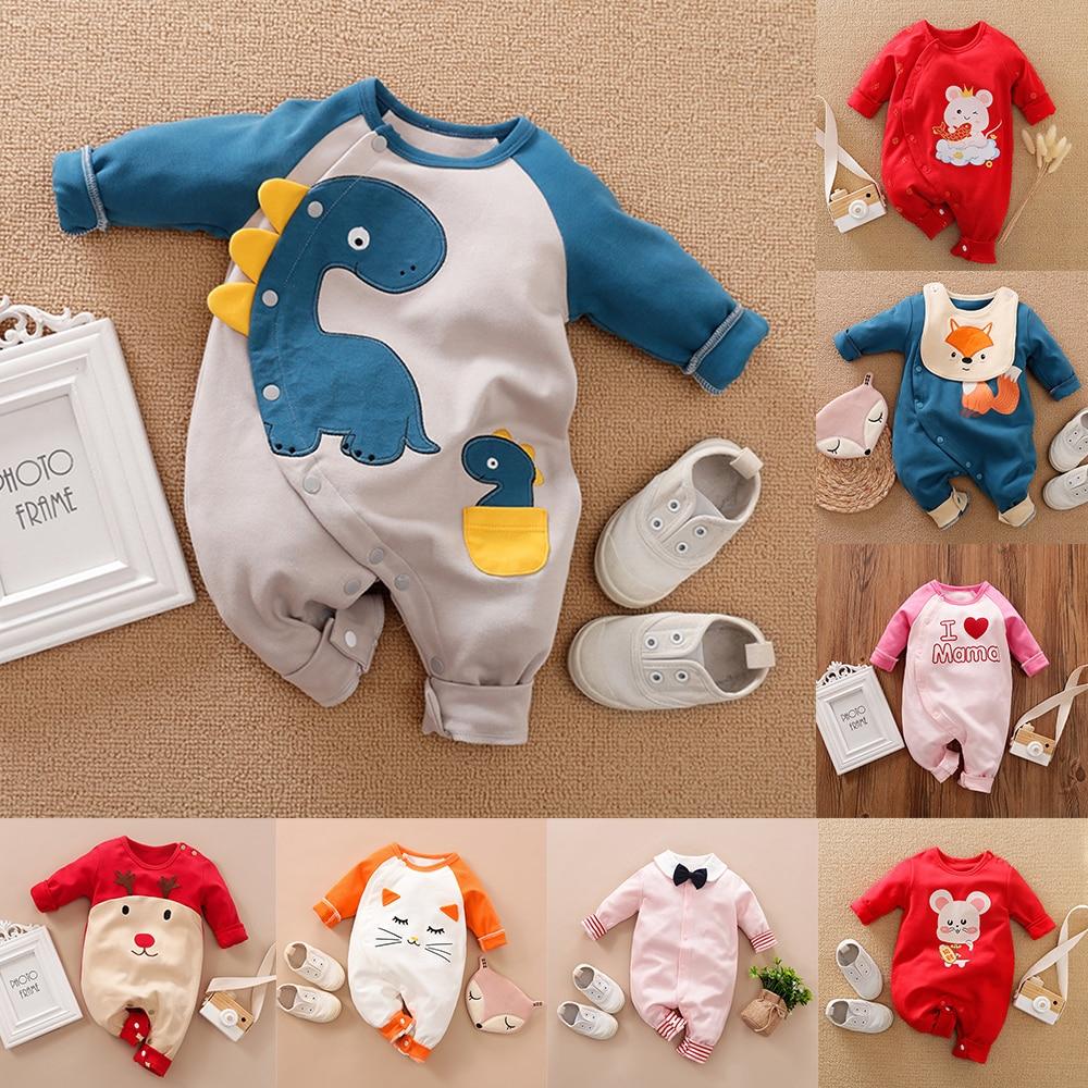 Malapina 2020 bebê recém-nascido da menina do menino macacão macacão macacão macacão macacão infantil roupa de algodão do bebê da criança traje