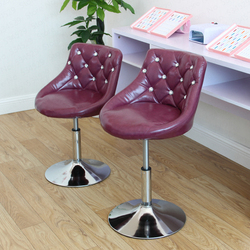 Europäischen Bar Hocker Stuhl Fahrstuhl Swivel Stuhl Barhocker Schönheit Dressing Rückenlehne Formale Esszimmer Stuhl Make-Up Künstler Stuhl