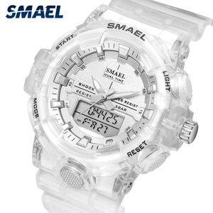 Image 3 - Spor İzle kadınlar reloj mujer su geçirmez 30M kronometre çalışan saat alarmı 8025 siyah saatler instagram bayanlar kol saatleri yeni