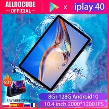 Alldocube – tablette PC de 10.4 pouces iPlay40, avec 2000x1200, wi-fi 5G, 4G LTE, UNISOC T618 Octa Core, 8 go de RAM, 128 go de ROM, Android 10, double WiFi, type-c