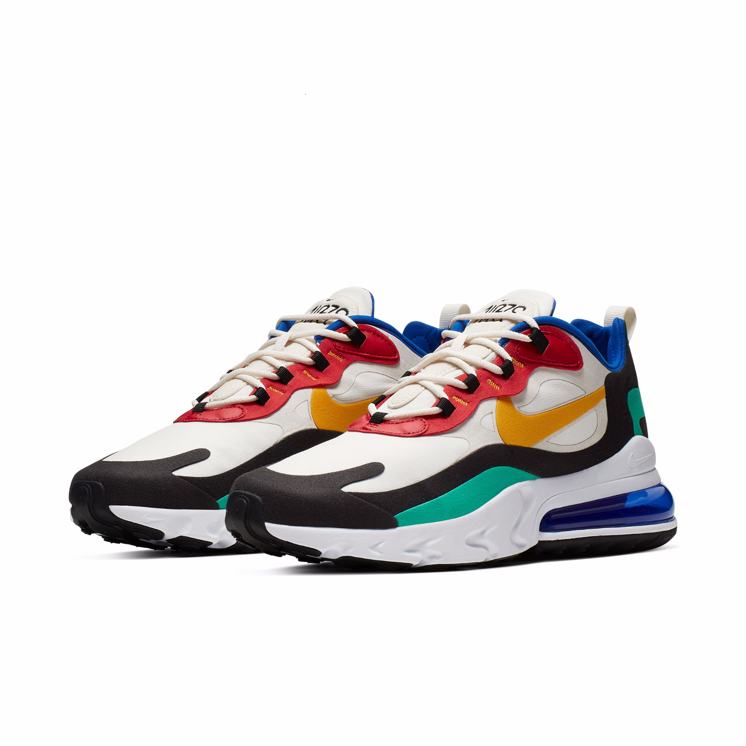 Nike Air Max 270 React New Arrival Men Running Shoes Comfortable Air Cushion Outdoor Sports Sneakers Men #AO4971