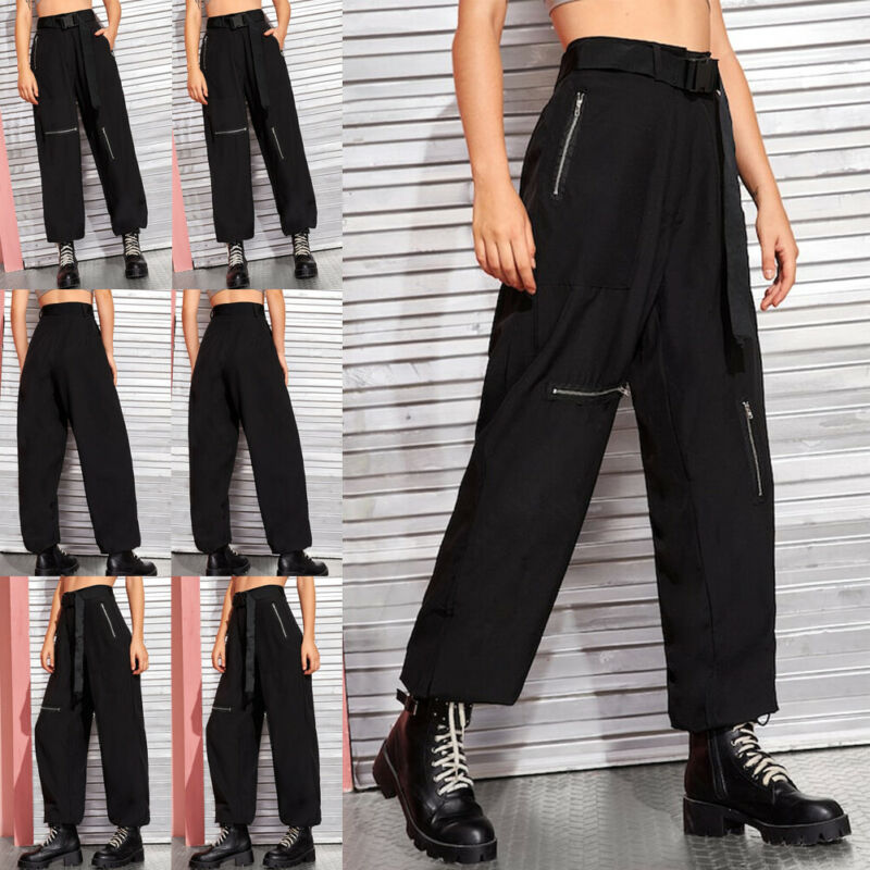 Goocheer Women Cargo Trousers Casual Hip Hop Military Army Combat Camo Hiking Pant NEW in Pants amp Capris from Women 39 s Clothing