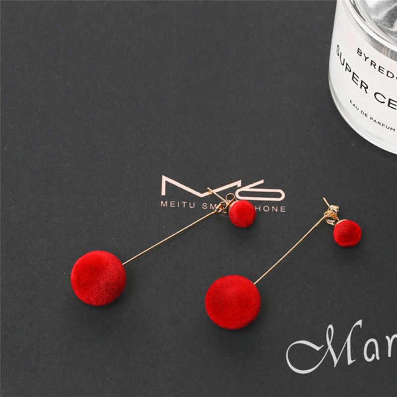 Fashion imitation pearl earrings 2019 leaf crystal tassel star drop earrings for women geometry statement ear jewelry wholesale