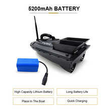 Flytec RC Boat 2011-5 Fish Finder Fish Boat 1.5kg 500m Remote Control Fishing Bait Boat Ship Speedboat RC Toys 5.4km/h