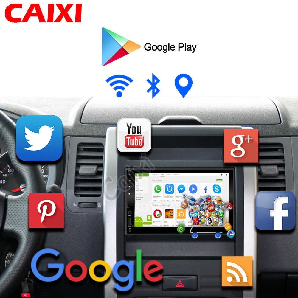 2 din araba Android 9.0 RAM2GB araba radyo multimedya oynatıcı için Nissan Hyundai Kia Hyundai Chevrolet Ford Suzuki Mitsub yok 2din dvd