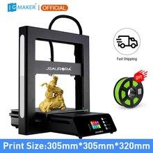 JGMAKER JGAURORA A5S FDM stampante 3D assemblaggio facile scheda madre a 32bit volume di grande costruzione 305*305*320mm riprendi stampa spegnimento