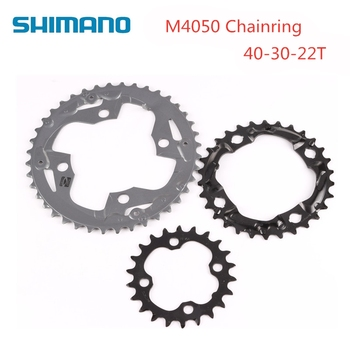 Shimano ALIVIO M4050 M4000 Mountain Bike Bicycle 96BCD Chainring 40 30 22T For Suitable For M3000 M2000 MTB Bike Crank Crown image