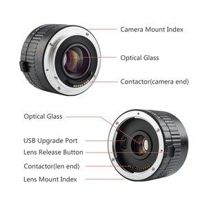 Image 2 - VILTROX – objectif C AF avec grossissement 2X, pour Canon EOS EF, pour appareil photo DSLR