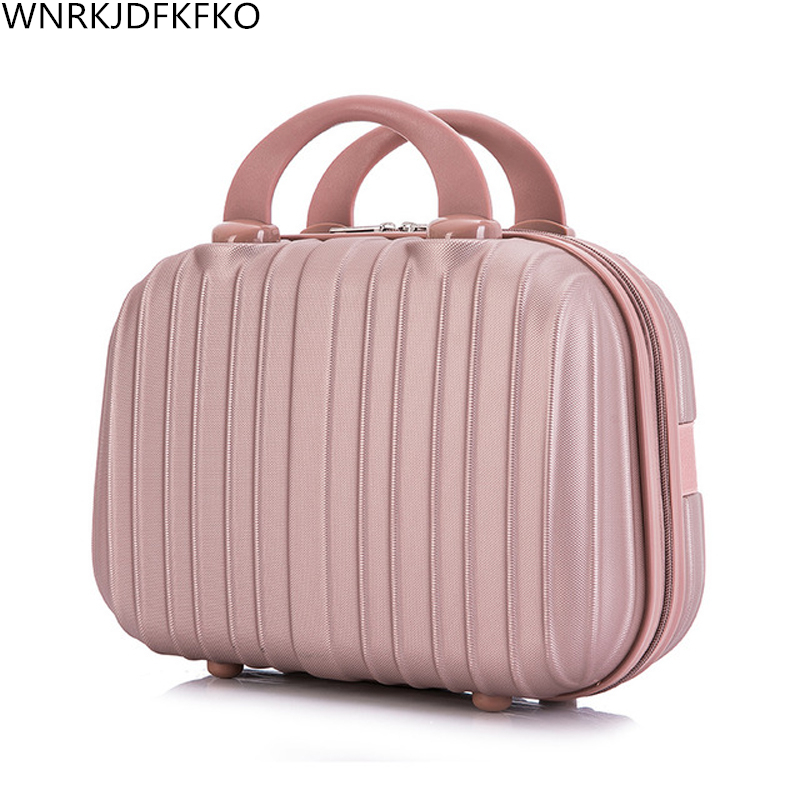 Women's Cosmetic Bag Portable Cosmetic Case Professional Cosmetology Makeup Organizer Travel Storage Box Suitcases Direct Delive