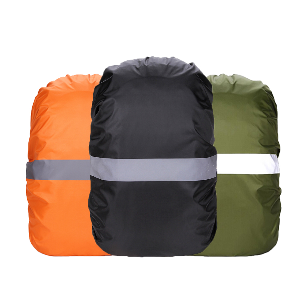 Rain Cover Backpack Reflective 20L 45L 60L Waterproof Bag Camo Tactical Outdoor Camping Hiking Climbing Bag Dust Raincover