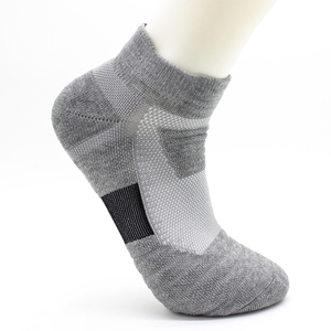 Image 4 - 1 ペア男性熱スポーツのためのサイクリングバスケットボールランニング冬ハイキングバスケットテニスノンスリップスポーツ綿靴下