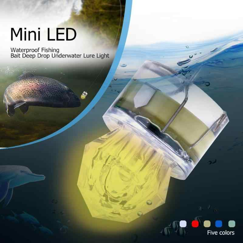 Mini LED Waterdichte Visaas Light LED Deep Drop Onderwater Lokken Licht