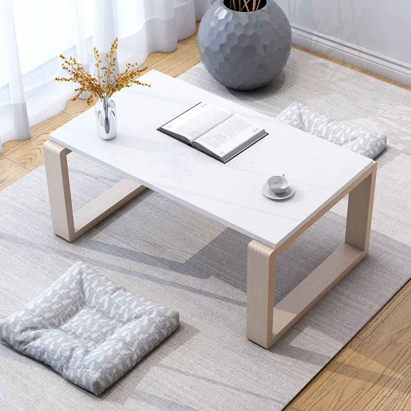 Japanese Style Small Coffee Table Tatami Coffee Table Bay Window Small Table Household Economical Kang Table Minimalist Modern F