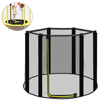 Trampoline Safety Net Trampoline Enclosure Net Jumping Bed Safety Net Protection Guard For 6 Poles Trampolines Outdoor Toys