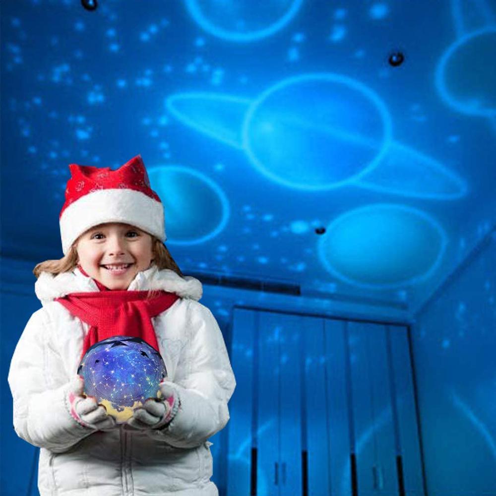 Звездное небо ночсветильник проектор лампа Вселенная светодиодная