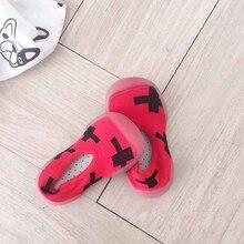Детская обувь фитнес кроссовки легкие слипоны Мягкие Мальчики Девочки Спортивная прогулочная обувь черный красный Детский кроссовок дышащая