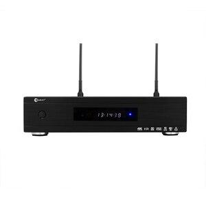EWEAT R10mini caja de Smart TV de Android mejor rendimiento de audio de clase CON RS232 decodificador 4K H.265 Wifi media player receptor de TV