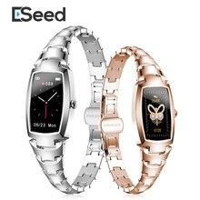 Eseed 2020 H8 pro Смарт-часы женские модные милые женские часы с пульсометром и напоминанием о звонках Bluetooth для IOS Android