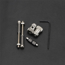 Double Gear Wheel Extruder Kit Extrusion Wheel with Spring for Prusa mk2/mk2.5/mk3 Bondtech 3D Printer Accessories