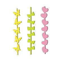 GJCrafts Heart Bow-knot Line Love Branch Metal Steel Cutting Dies Stencil for DIY Scrapbooking Paper/photo Cards Embossing Dies(China)