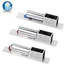 DC12V Fail Safe Elektro Bolt Lock Niedrigen Temperatur Drop Elektronische Einsteckschloss Türschlösser mit Zeit Verzögerung für Access Control System
