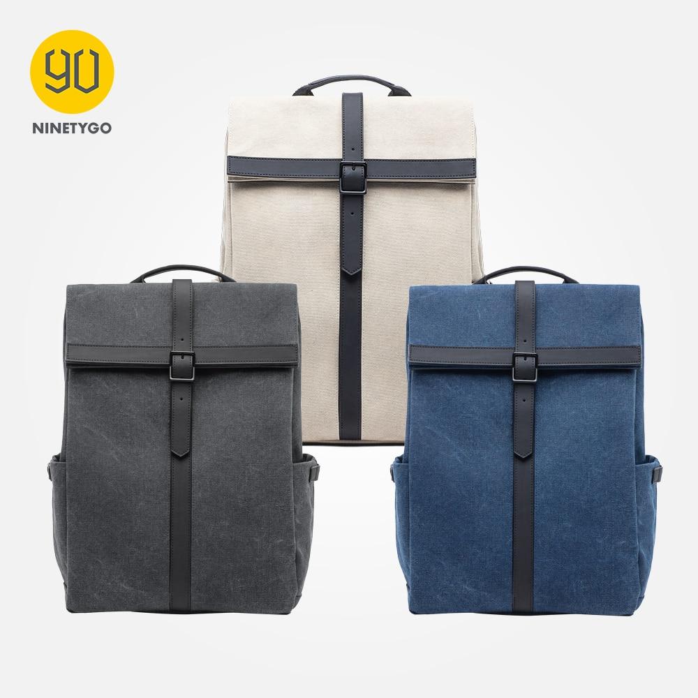 90 NINETYGO Grinder Oxford Backpack Casual 15.6 inch Laptop Bag British Style Bagpack for Men Women School Boys Girls|Backpacks| - AliExpress