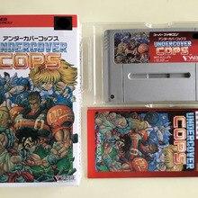 16Bit Games ** Undercover Cops ( Japan NTSC-J Version!! Box+Manual+Cartridge!! )