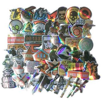 10 30 50pcs Pack Cartoon CS Go naklejki wodoodporne pcv motocykl Skateboard przechowalnia gitara Laptop fajne gry naklejki dla dzieci zabawki tanie i dobre opinie ZOENJANG CN (pochodzenie) 7-12m 25-36m 7-12y 12 + y 4-6y 13-24m W wieku 0-6m 1 2in(3CM)-3 9 in(10CM) Waterproof PVC Leave trace instagram anime stickers children kpop