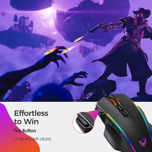 Image 4 - PICTEK PC278 Gaming Mouse Ergonomic Wired Computer Mouse Gamer 8 Buttons Programmable Mice with 8000 DPI RGB Backlit for PC Game