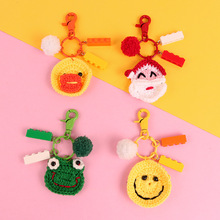 Christmas For APPle AirPods Case Santa Frog Duck Smiley Headset Set Accessories Cute Cartoon Knit Lost Headphone Box