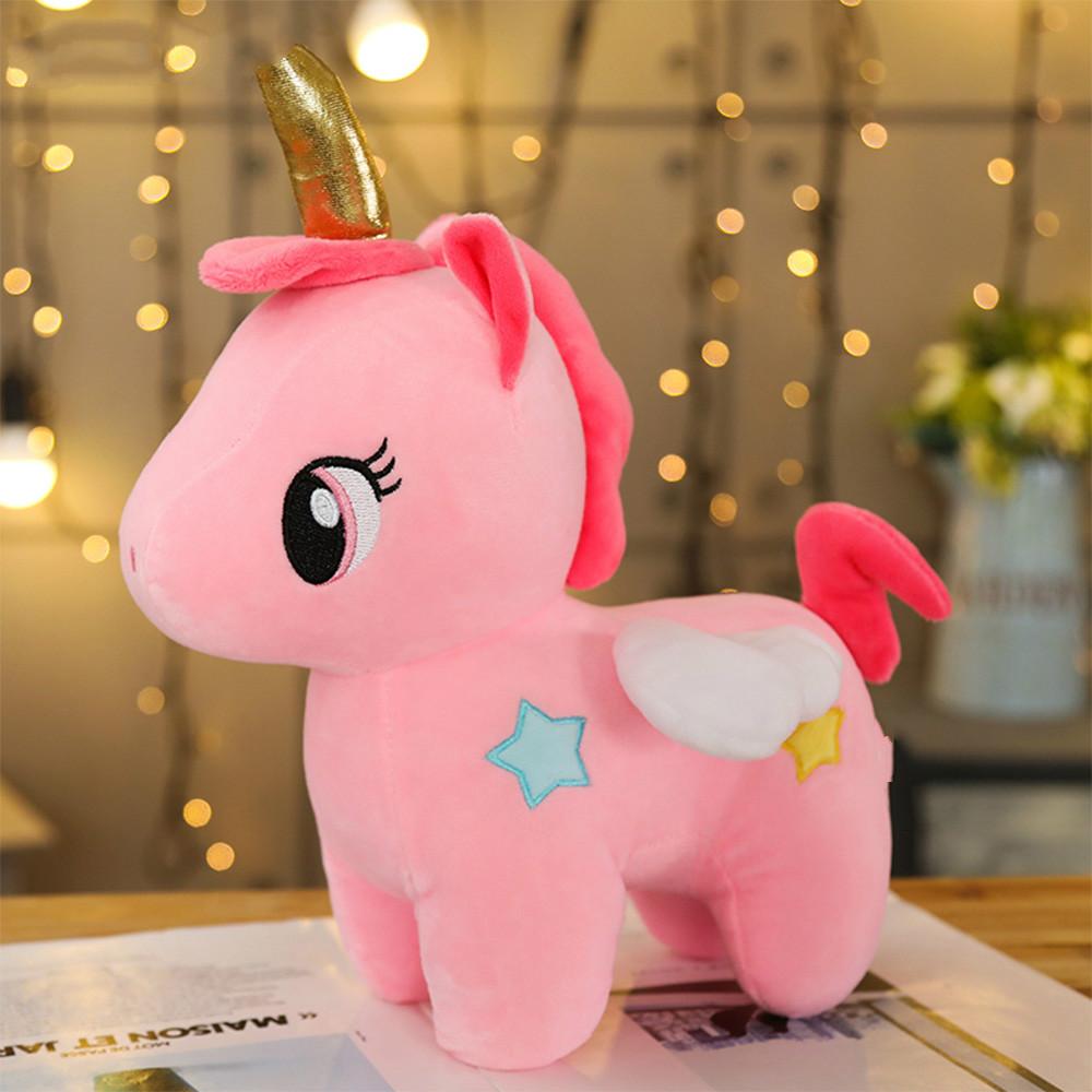 Unicorn Soft Plush Toy 20 / 25 cm