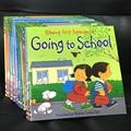 Случайный 4 книги на английском языке Usborne книги для детей иллюстрированные книги для детей известной истории скотный двор сказки Series Книга ...
