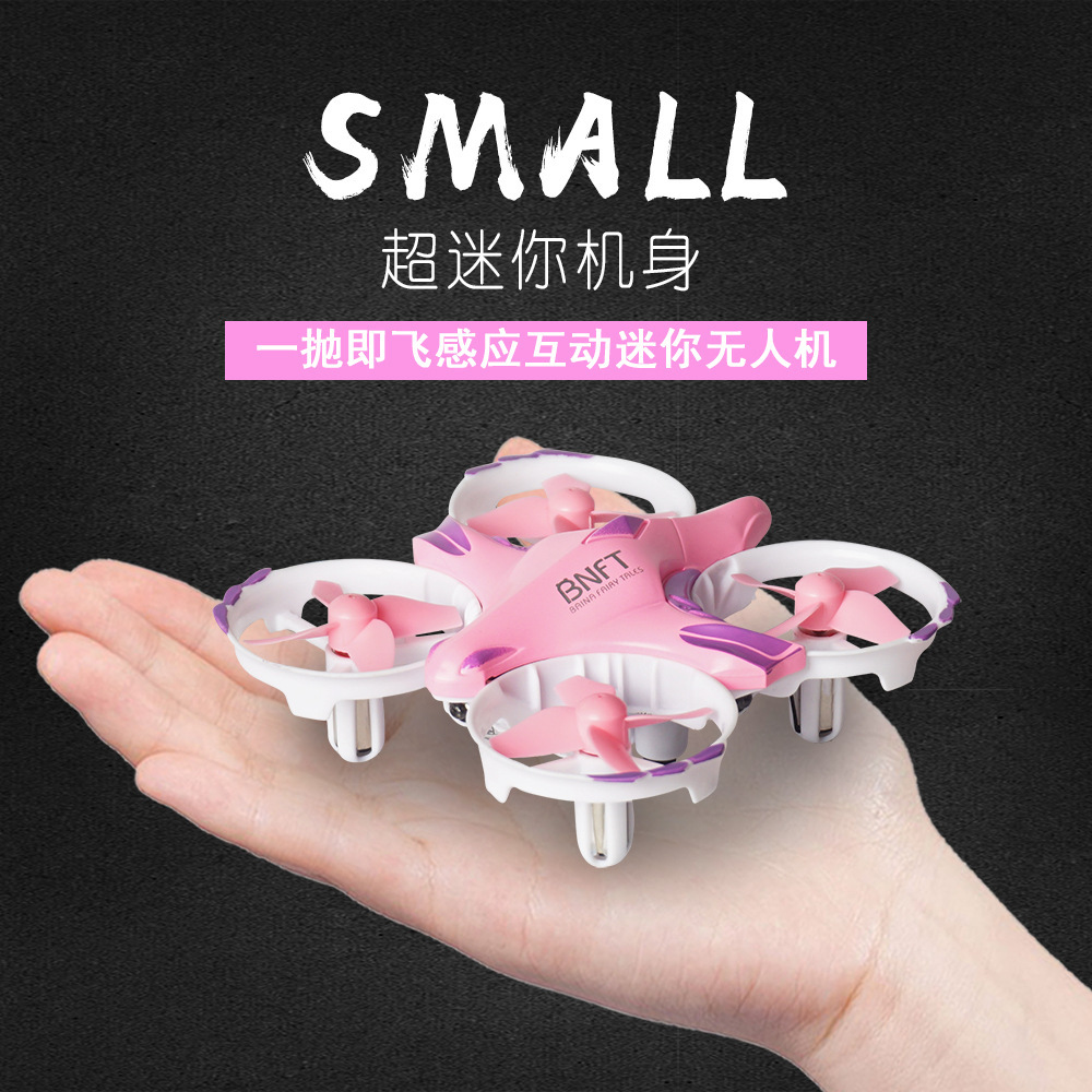 C Remote Control Children Mini Five Sensing New Style Gesture Unmanned Aerial Vehicle Small Aircraft No Negative High Quadcopter