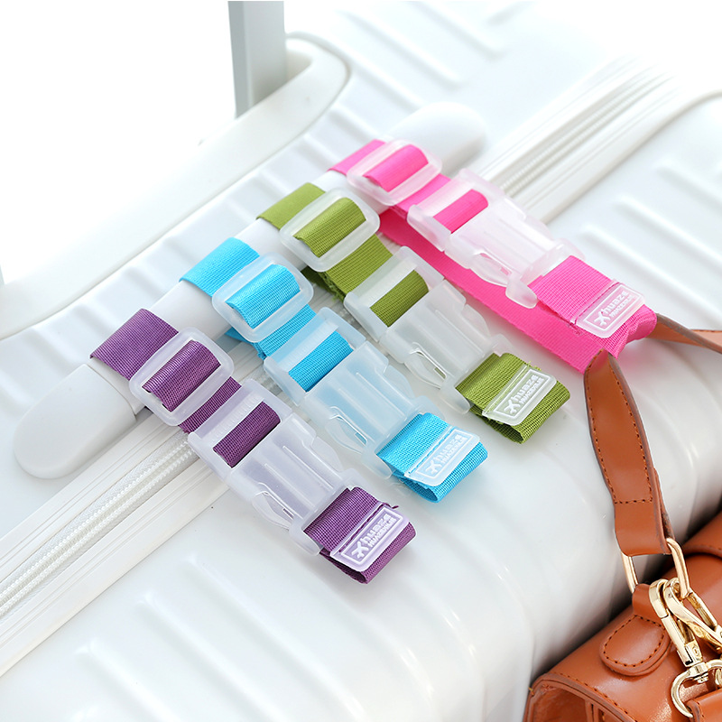 1367 Travel Trolley Luggage Hanging Buckle Bandage Cloth Portable Clip Sling Luggage Anti-loss Straps