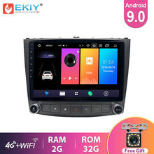 Ekiy ips android 9.0 rádio do carro para lexus is250 is300 is200 is220 2005-2012 navegação gps multimídia player estéreo dvd headunit