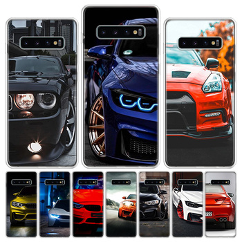 Blue white black For BMW! Phone Case For Samsung Galaxy S6 S7 S8 S9 S10 S10E S20Ultra Plus Lite J4 J6 J8Plus Note 8 9 10 Plus Co image