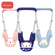 Cartoon Print  Baby Walking Learning Belt Stand Up Leashes Strap Wings Toddler Multi-functional Walker Harness Backpack Leashes