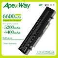 Apexway Laptop bateria do samsunga AA-PB9NC6B AA-PB9NS6B AA-PB9NC6W AA-PL9NC6W R428 R429 R468 NP300 NP350 RV410 RV509 R530 R580