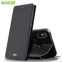 MOFi funda para Xiaomi Mi Max 3 para Xiomi Max 2 de silicona carcasa de TPU Mi Max 2 de la PU de cuero Coque libro Capa Shell