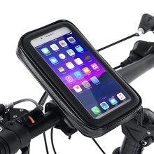 حامل هاتف خلوي عالمي مقاوم للماء للدراجات النارية والسكوتر والهواتف الذكية