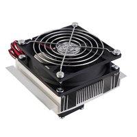 Tragbare PC Kühlen Fan Thermoelektrische Kühler Für DIY PC Peltier Kühlung kühl Kühler Fan System Kühlkörper Kit Strahl