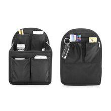 Backpack Insert Organizer Bag Gadget Multi-Pocket Handbag Pouch Case