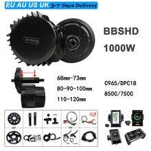 BAFANG – Kit de motorisation de vélo électrique 1000W, 52V, modèle BBSHD, moteur 8Fun à entraînement Central dans le pédalier, C965, C18, P850C, 750C