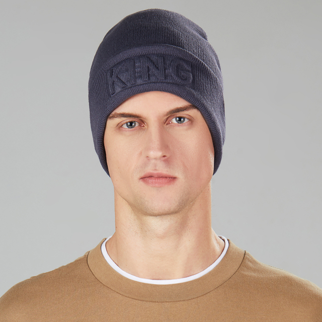 King In-printed Beanie 4