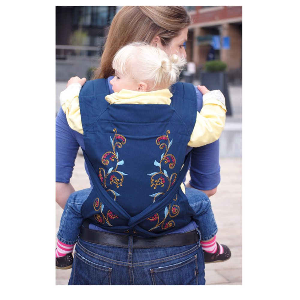 Backpacks & Carriers Baby Carrier Fashion Pattern Design Sling Ergonomic Baby Carrier For 0-3 Year Infant Cotton One Size Infant