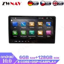 9 pouces Android 10 6G + 128G voiture lecteur multimédia pour Buick Royaum voiture GPS Navigation tête unité Radio enregistreur stéréo