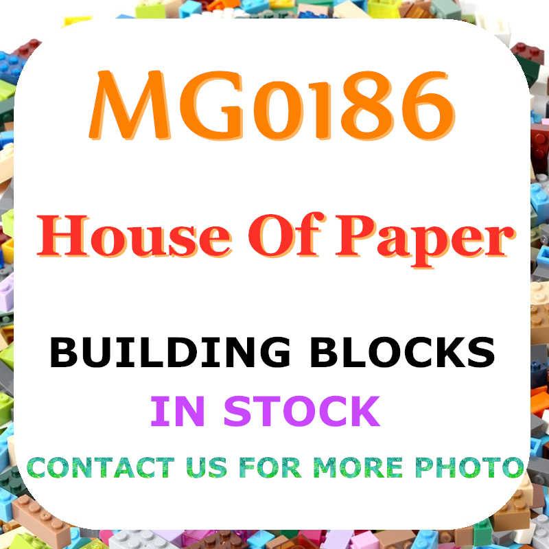 Бесплатная доставка бумажный дом сезон Рио Денвер персонажи Фредди MG0186