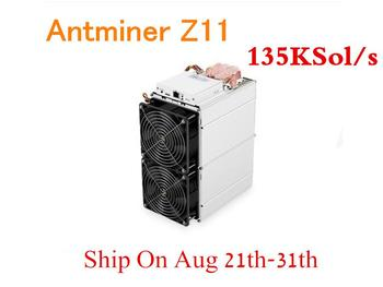 Pre-sale Antminer Z11 135k Sol/s 1418W Asic Equihash ZCASH ZEC Miner Better Than Antminer Z9 S9 S11 S15 Innosilicon A9